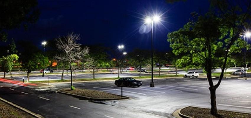 Outdoor light levels 2